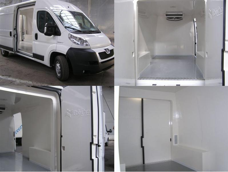 Peugeot Boxer refrigerated vans box