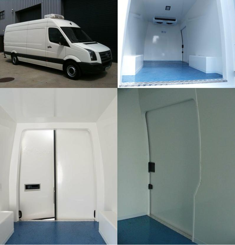 VW Crafter refrigerated vans box